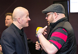 Eddie 'The Eagle' Edwards talks to SamFM - Mandatory by-line: Robbie Stephenson/JMP - 29/04/2016 - FOOTBALL - Ashton Gate - Bristol, England - Bristol Sport Big Sports Breakfast Eddie The Eagle