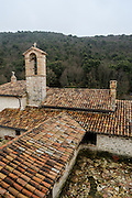 La Romita, on the hills near Cesi is a old Franciscan monastery rebuild as living spiritual community and pilgrimage center by the Franciscan monk Bernardino Greco, after 10 years of hard work with the help of many volunteers.