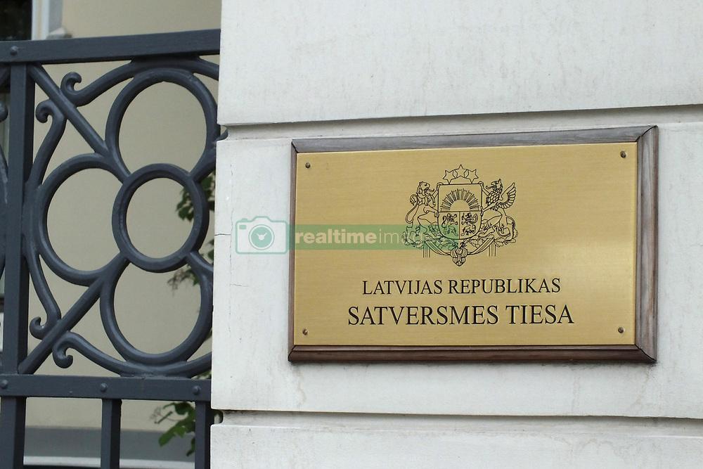 May 25, 2019 - Riga, Latvia, Latvia - Latvia, Riga,  Constitutional court (Credit Image: © Russian Look via ZUMA Wire)