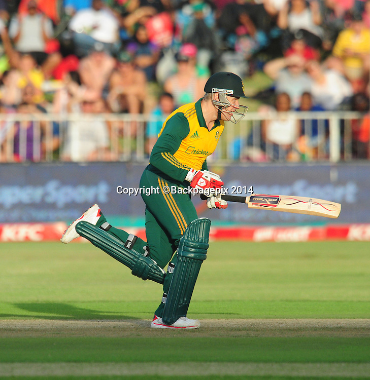 Morne van Wyk , South Africa during the 2015 KFC T20 International Series cricket match between South Africa and West Indies at the Kingsmead Stadium in Durban on the 14th of January 2015<br /> <br /> &copy;Sabelo Mngoma/BackpagePix