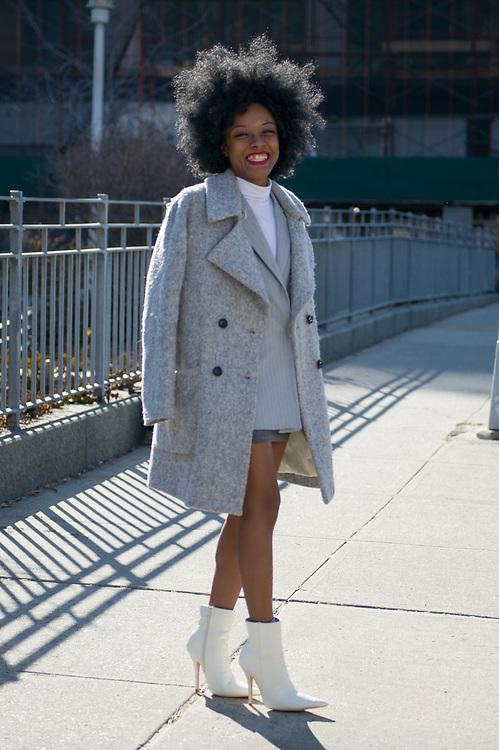 Kamara Williams at NYFW Day 1