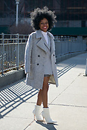 Kamara Williams at NYFW Day 1