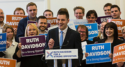 Pictured: Ross Thomson<br /> <br /> Ruth Davidson began her final push to lead the Conservative Party to opposition in the Scottish Parliamentary Election with an eve of poll rally at the Royal Botanic Garden, Edinburgh<br /> <br /> <br /> <br /> (c) Richard Dyson| Edinburgh Elite media