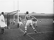 All Ireland Senior Football Final Replay. Meath v Cavan..Action on the pitch..Winners - Cavan 0.9 - 0.5..12.10.1952  12th October 1952S. Morris, J. McCabe, P. Brady, D. Maguire, P. Carolan, L. Maguire, B. O'Reilly, V. Sherlock, T. Hardy, S. Hetherton, M. Higgins (Captain), E. Carolan, J. J. Cassidy, A. Tighe, J. Cusack. Note: P. Fitzsimons played in drawn game. J. Cusack came on for replay. P. Fitzsimmons was introduced as Sub for J. J. Cassidy in replay.