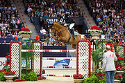 Marc Houtzager - Sterrehof's Uppity<br /> Rolex FEI World Cup Final 2013<br /> © DigiShots