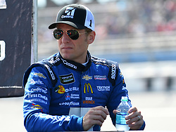 October 14, 2018 - Talladega, AL, U.S. - TALLADEGA, AL - OCTOBER 14: Jamie McMurray, Chip Ganassi Racing, Chevrolet Camaro Cessna (1) before the 1000Bulbs.com 500 on October 14, 2018, at Talladega Superspeedway in Tallageda, AL.(Photo by Jeffrey Vest/Icon Sportswire) (Credit Image: © Jeffrey Vest/Icon SMI via ZUMA Press)