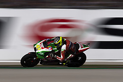 November 11, 2017 - Valencia, Valencia, Spain - 41 Aleix Espargaro (Spanish) Aprilia Racing Team Gresini Aprilia during qualifying the Gran Premio Motul de la Comunitat Valenciana, Circuit of Ricardo Tormo,Valencia, Spain. Saturday 11th of november 2017. (Credit Image: © Jose Breton/NurPhoto via ZUMA Press)