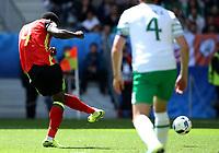 Romelu Lukaku Belgium scoring the goal of 3-0<br /> Bordeaux 18-06-2016 Nouveau Stade Footballl Euro2016 Belgium - Republic of Ireland  / Belgio - Irlanda Group Stage Group E. Foto Matteo Ciambelli / Insidefoto