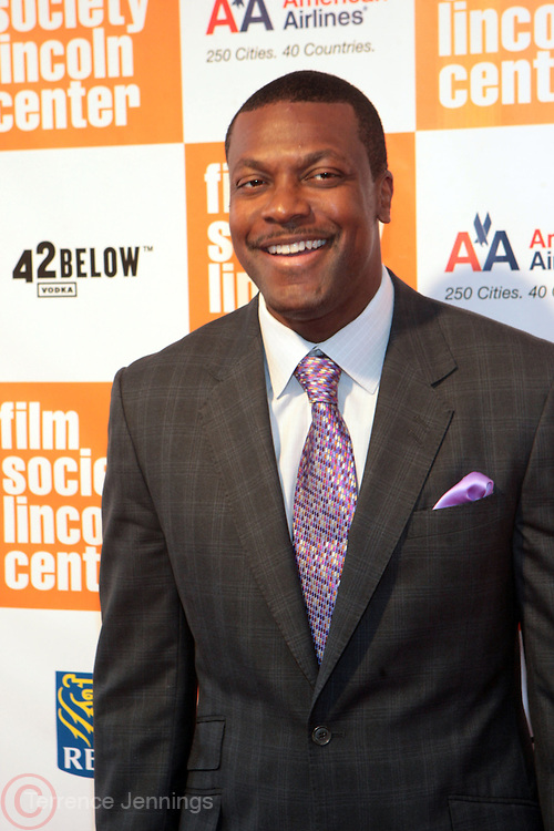 New York, NY- May 02:  Actor Chris Tucker attends The Film Society's Annual Gala Presentation of the 38th Annual Chaplain Award Honoring Sidney Poitier held at Lincoln Center on May 2, 2011 in New York City. Photo Credit: Terrence Jennings