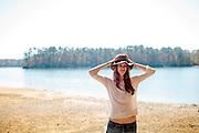Camping at Windcreek State Park in Alexander City, Alabama.