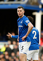Football - 2019 / 2020 Premier League - Everton vs. Manchester United<br /> <br /> Michael Keane of Everton, at Goodison Park.<br /> <br /> COLORSPORT/ALAN MARTIN
