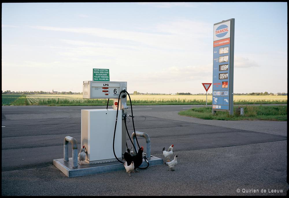 Tamoil LPG pomp. Zuid Holland. Kodak Ektar film