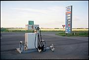 Tamoil LPG pomp. Zuid Holland. © Holland Kodak Ektar serie