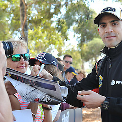 Pastor Maldonado of Lotus F1 Team.<br /> Round 1 - Second day of the 2015 Formula 1 Rolex Australian Grand Prix at The circuit of Albert Park, Melbourne, Victoria on the 13th March 2015.<br /> Wayne Neal | SportPix.org.uk