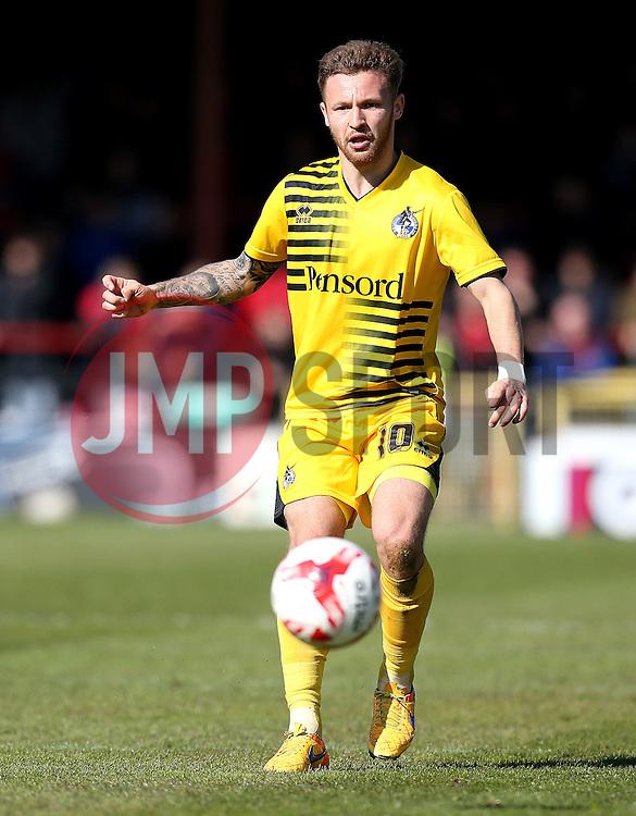 Matt Taylor of Bristol Rovers - Mandatory by-line: Robbie Stephenson/JMP - 30/04/2016 - FOOTBALL - Bootham Crescent - York, England - York City v Bristol Rovers - Sky Bet League Two