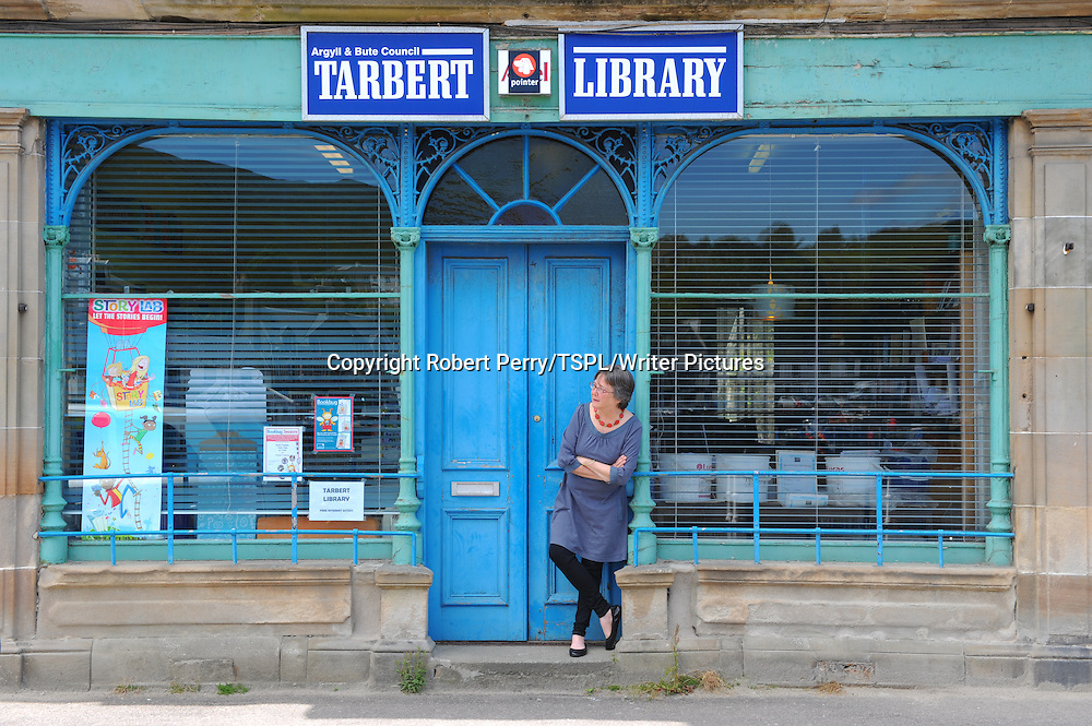 Lisa Tuttle, Scottish writer at Tarbert Library.Photographed on 12th July 2012<br /> <br /> Picture by Robert Perry/TSPL/Writer Pictures<br /> <br /> WORLD RIGHTS