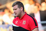 Karl Robinson, Manager of Milton Keynes Dons during the Pre Season Friendly match at the London Borough of Barking and Dagenham Stadium, London<br /> Picture by David Horn/Focus Images Ltd +44 7545 970036<br /> 22/07/2014