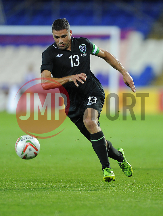 Jonathan Walters of Republic of Ireland (Stoke City)  - Photo mandatory by-line: Joe Meredith/JMP - Tel: Mobile: 07966 386802 14/08/2013 - SPORT - FOOTBALL - Cardiff City Stadium - Cardiff -  Wales V Republic of Ireland - International Friendly