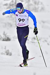 ROMANIUK Serhii, UKR, LW8 at the 2018 ParaNordic World Cup Vuokatti in Finland