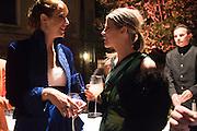 VANESSA ARELLE; YVONNE LA FORCE, Hauser and Wirth cocktail reception. Palazzo Balbi-Valier, Dorsoduro 866, Venice, Venice Biennale, Venice. 5 May 2015