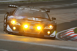 25.06.2011, GER, Motorsport, 24 H Rennen Nürburgring, im Bild Audi Sport Team Abt Sportsline (Luca LUDWIG, Christopher MIES, Christer JOENS, Christian ABT).., EXPA Pictures © 2011, PhotoCredit: EXPA/ A. Neis