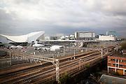 London, Maggio 2012 - Dall'appartamento di Serena e Melania si può vedere il complesso del Parco Olimpico e del Centro commerciale dove ogni giorno si recano per andare a lavorare nel casino.