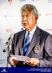 The opening event of Sailing's 2017-18 World Cup Series is in Gamagori, Japan. Held from 15-22 October 2017, more than 250 sailors from 39 nations will race in eight Olympic sailing events.  Hirofumi Kawano – President of JSAF