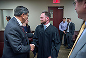 Judge Jason Lidyard sworn in
