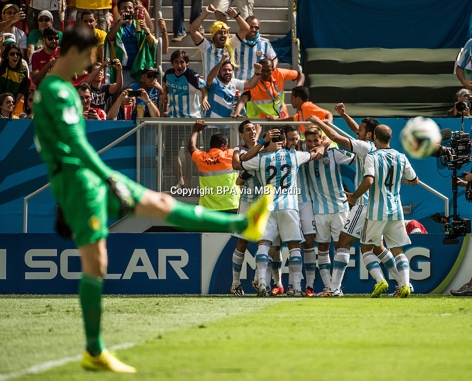 Brasillia, 05 de julho de 2014<br /> Argentina vs B&eacute;lgica, <br /> quartas de final<br /> Copa do Mundo 2014
