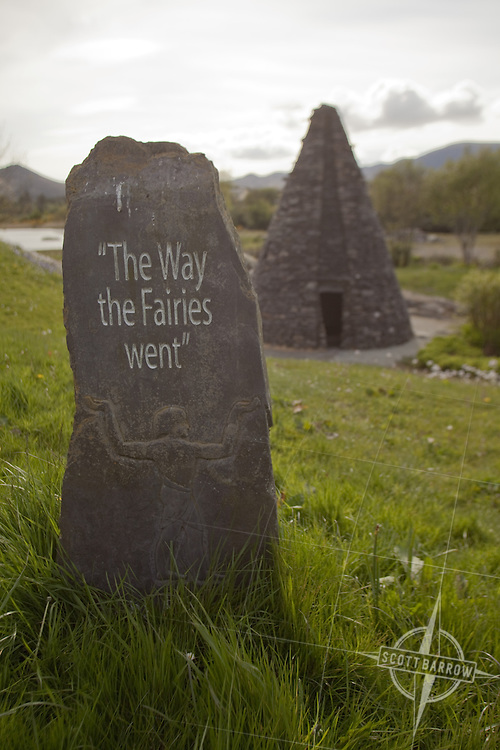 "Sculpture park in Sneem, ""The Way the Fairies Went"". James Scanlon sculptor from Kerry."