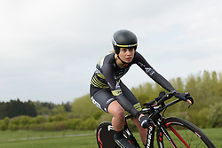 Eva Buurman at the Prologue of Festival Elsy Jacobs 2017. A 2.8 km individual time trial on April 28th 2017, in Cessange, Luxembourg. (Photo by Sean Robinson/Velofocus)
