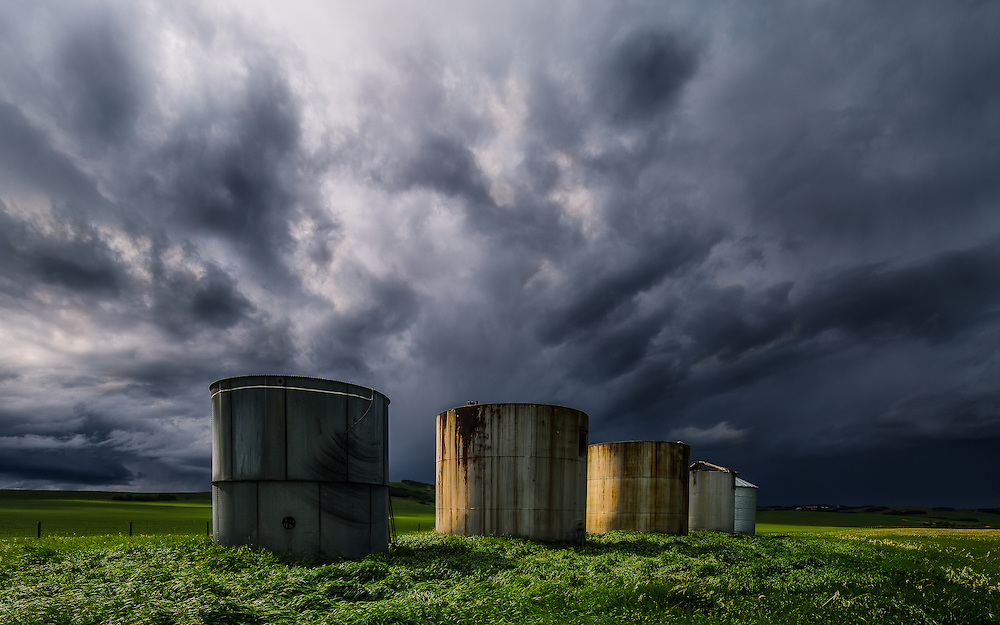 Spring storms in Southern Alberta, June 2015