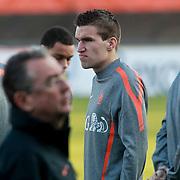 NLD/Katwijk/20110321 - Training Nederlandse Elftal Hongarije - NLD, ............