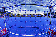 General view of the goal mouth ahead of  the Vitality Hockey Women's World Cup 2018 Semi-Final match between Ireland and Spain at the Lee Valley Hockey and Tennis Centre, QE Olympic Park, United Kingdom on 4 August 2018. Picture by Martin Cole.