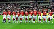 Team picture of Polish team during the FIFA World Cup 2014 group H qualifying football match of Poland vs Montenegro on September 6, 2013 in Warsaw, <br />Photo by: Piotr Hawalej