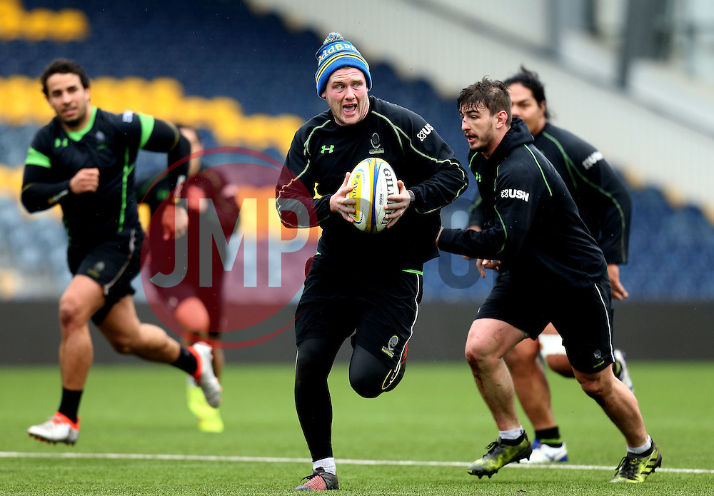 Niall Annett of Worcester Warriors in training - Mandatory by-line: Robbie Stephenson/JMP - 28/02/2017 - RUGBY - Sixways Stadium - Worcester, England - Worcester Warriors Training - 28/02/17
