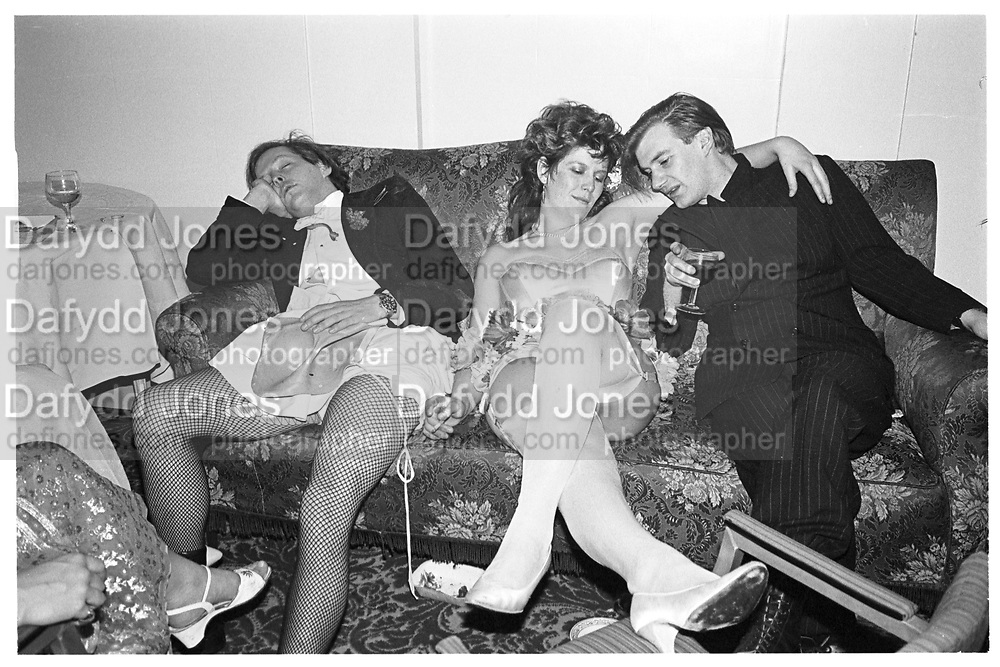 Josa Keyes; James Birch, Piers Gaveston Ball, Park Lane Hotel 13.05.83? Copyright Photograph by Dafydd Jones 66 Stockwell Park Rd. London SW9 0DA Tel 020 7733 0108 www.dafjones.com