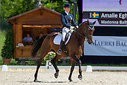 Amalie Egholm Hebsgaard - Madonna Bally<br /> FEI European Championships Dressage Juniors and Young Riders 2012<br /> © DigiShots