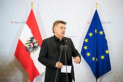 15.01.2020, Bundeskanzleramt, Wien, AUT, Sitzung des Ministerrats, im Bild Werner Kogler (Gruene)// cabinet meeting at the federal chancellery in Vienna, Austria on 2020/01/15. EXPA Pictures © 2020, PhotoCredit: EXPA/ Florian Schroetter
