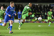 Forest Green Rovers Robert Hall(15), on loan from Oxford United controls the ball during the EFL Sky Bet League 2 match between Forest Green Rovers and Carlisle United at the New Lawn, Forest Green, United Kingdom on 28 January 2020.