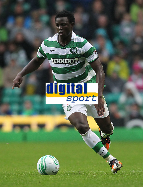 Football - Scottish Premier League - Celtic vs. Aberdeen<br /> <br /> Victor Wanyama of Celtic during the Celtic vs. Aberdeen Scottish Premier League match at Celtic Park, Glasgow on October 23rd 2011<br /> <br /> <br /> Ian MacNicol/Colorsport