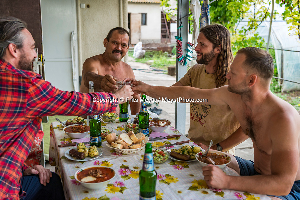 Transnistria, June 2019.  Home stay in a little village outside Tiraspol. Transnistria, or Transdniestria, officially the Pridnestrovian Moldavian Republic, is an unrecognised state that split off from Moldova after the dissolution of the USSR in 1993 and mostly consists of a narrow strip of land between the river Dniester and the territory of Ukraine. Photo by Frits Meyst / MeystPhoto.com