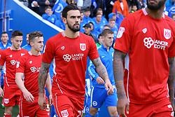 Bristol City enter Amex Stadium, Marlon Pack of Bristol City - Mandatory by-line: Jason Brown/JMP - 29/04/2017 - FOOTBALL - Amex Stadium - Brighton, England - Brighton and Hove Albion v Bristol City - Sky Bet Championship