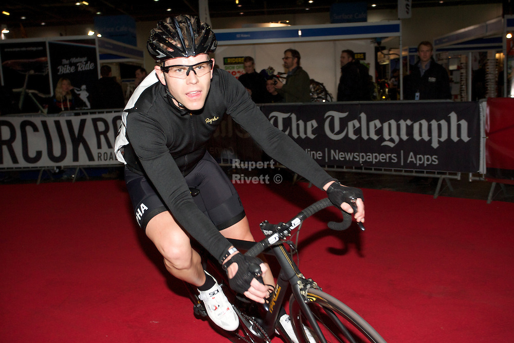 Matt Barbet <br /> <br /> Matt is a keen Cyclist and in these photos shows he's no slouch on the bike.<br /> Racing at the first indoor Nocturne he was at the front for most of the race before having to give way to those who maybe have a bit more time to train and race. <br /> <br /> Carreer<br /> Before joining BBC London in 2003, Barbet worked at BBC Radio 1 as a newsreader on the Sara Cox Breakfast Show. In 2006 he presented BBC London's Children in Need coverage. He also presented the BBC's STORYFix programme - a light, upbeat look at the news shown on BBC News 24 and the BBC website. In 2007 he was an occasional relief presenter for BBC Breakfast.<br /> [edit]5 News<br /> In September 2007, Barbet was named as a presenter and correspondent for 5 News on Channel 5. His position came after Kirsty Young, the principal anchor, announced her departure from the programme. He took up his new role in November 2007.[1] In June 2008, Barbet and Isla Traquair, were announced as stand-in presenters on 5 News while Natasha Kaplinsky was on maternity leave.[2] Barbet visited Haiti in January 2010 after the earthquake and has also been embedded with the British Army in Afghanistan.[3][4] In February 2011, he was announced as the new presenter of the flagship 17:00 programme, after Kaplinsky left the station.[5] He left on 26 July 2012.[6][7]<br /> [edit]Daybreak<br /> On 11 June 2012 it was announced Barbet would leave 5 News to join ITV Breakfast's Daybreak.[8] He made his debut on 3 September 2012 and presents the show from 6am to 7am with Ranvir Singh.[9]<br /> [edit]This Morning<br /> Since October 2011, Barbet has occasionally been a News Reviewer on This Morning with Ranvir Singh.