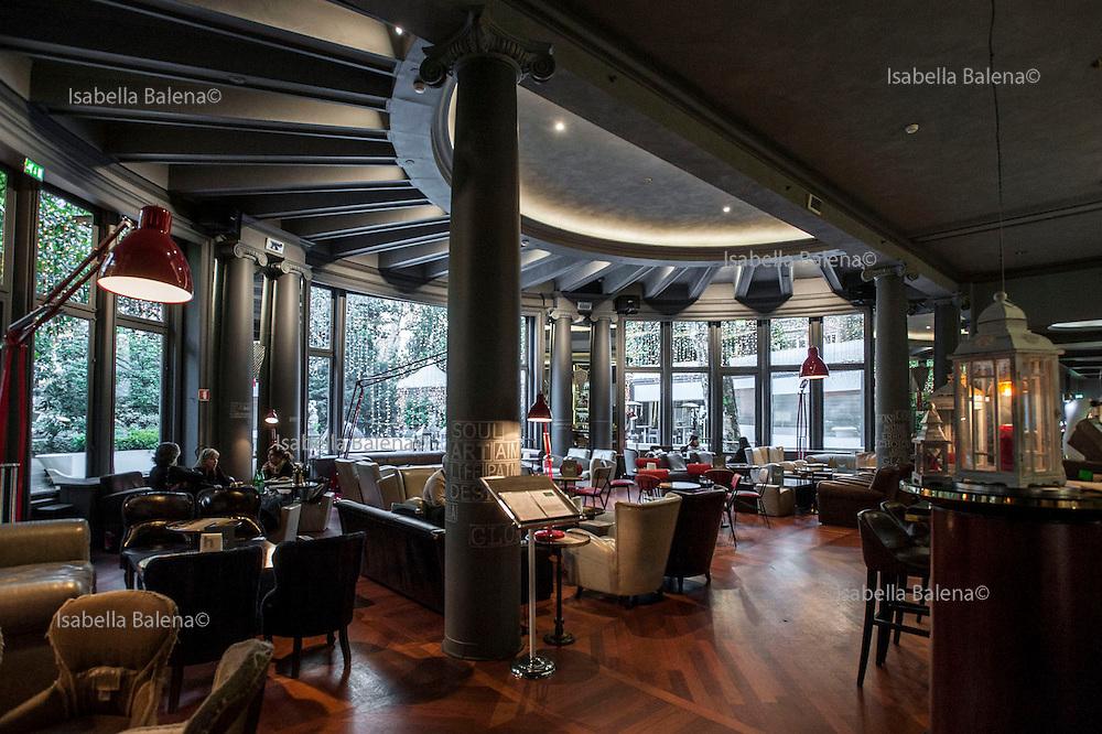 Milano, Lombardia, Italia. Stile liberty. Liberty style. Hotel Diana Majestic.