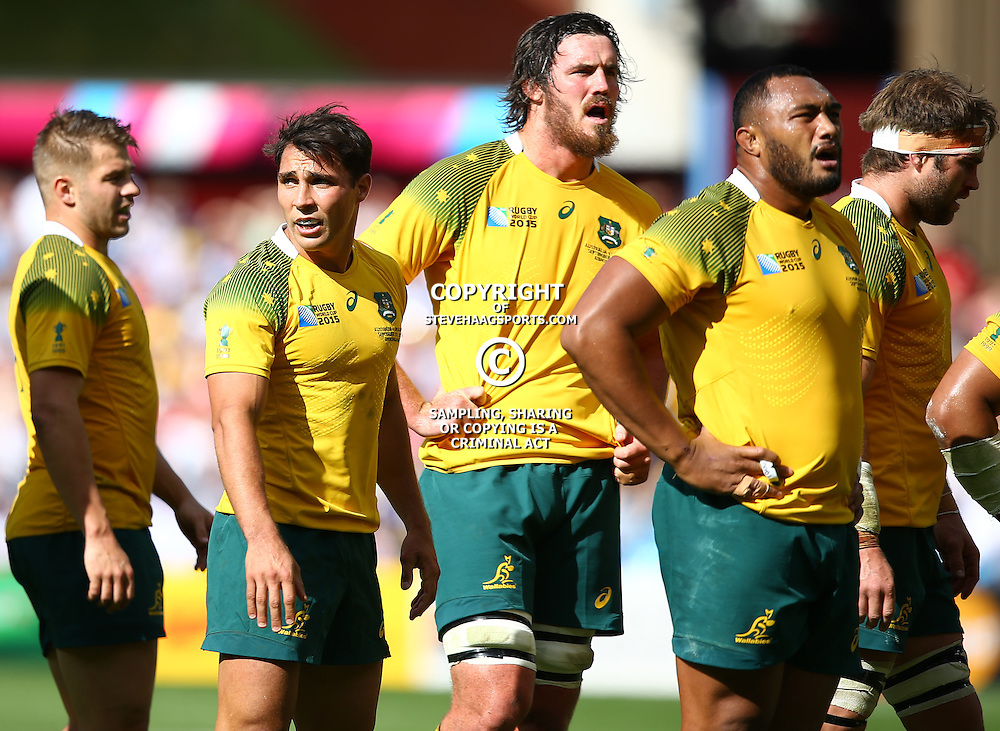 BIRMINGHAM, ENGLAND - SEPTEMBER 27: GV during the Rugby World Cup 2015 Pool A match between Australia and Uruguay at Villa Park on September 27, 2015 in Birmingham, England. (Photo by Steve Haag/Gallo Images)