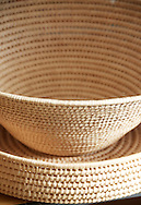 Natural baskets in ilala developed through the iSimangaliso craft program