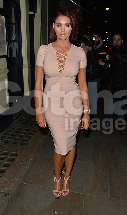 Amy Childs at the Grooming Room: Women's Edit launch party at the Century Club in London, UK. 19/02/2016<br /> BYLINE MUST READ : GOTCHAIMAGES.COM<br /> <br /> Copyright by &copy; Gotcha Images Ltd. All rights reserved.<br /> Usage of this image is conditional upon the acceptance <br /> of Gotcha Images Ltd, terms and conditions available at<br /> www.gotchaimages.com