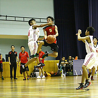 Jurong East Sports Hall, Thursday, July 26, 2012 -- Unity Secondary were crowned champions of the West Zone C Division Basketball Championship after beating arch-rivals, Jurong Secondary, 54-46.<br />