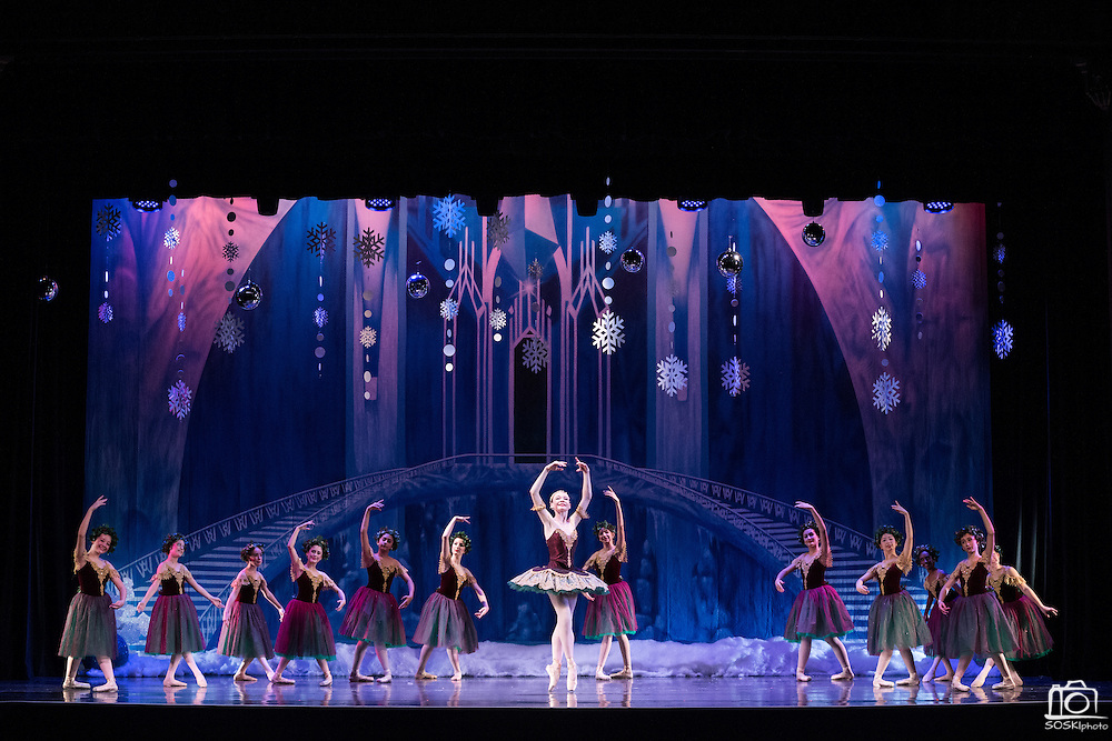 The Academy of Classical Ballet-CALIFORNIA performs A Winter Wonderland at the Campbell Heritage Theatre in Campbell, California, on December 10, 2016. (Stan Olszewski/SOSKIphoto)